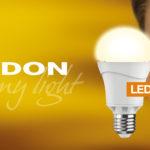 Neue LED-Lampen mit E-27 Sockel vom Leuchtmittelhersteller LEDON