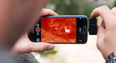 07ee3bf06d Additional area of application for compact XR 20° Seek Thermal Infrarot  Kamera für Android Smartphone