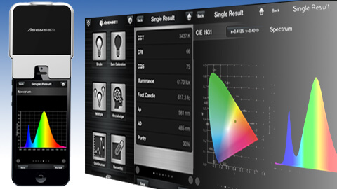 Spectral measurement with LightingPassport flagship
