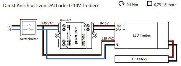 casambi module bluetooth 0 10v lighting control via app. Black Bedroom Furniture Sets. Home Design Ideas