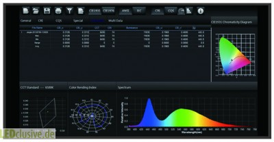 Spektrometer Software Spectrum Genius