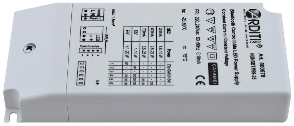 LED Treiber mit Casambi inside - TCI Professionale Casambi