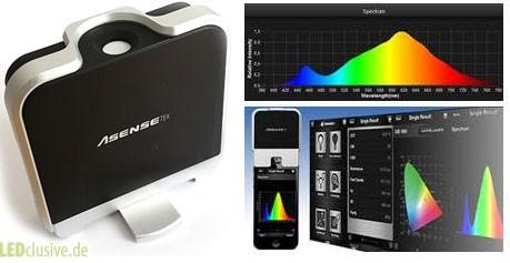 Spektrometer für iPhone und Android