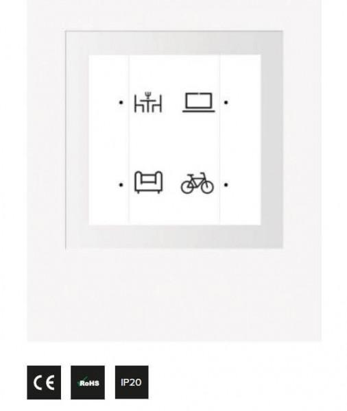 4-each wireless push-button