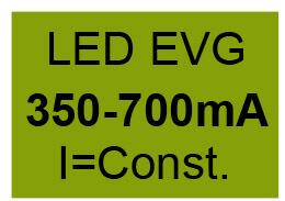 EVG LED 350 - 700 mA