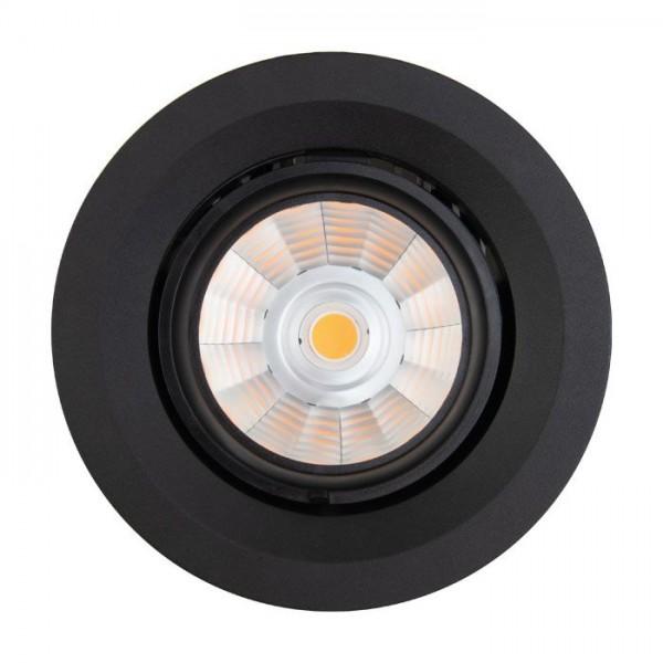 LED Downlight, 145 mm Ø, 30 W, pivotable