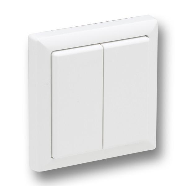 Eltako Push Button EnOcean 80x80mm FT4F-xx