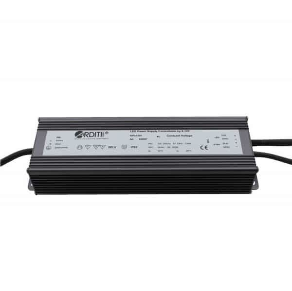 LED Power supply 180W/200W 12V/24 V controllable 0-10V
