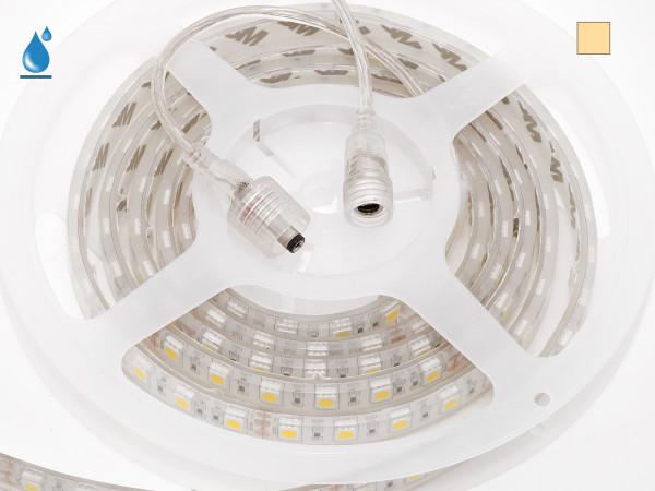 Flu-001-1, 2,5m LED-Stripe warmweiß 24V 15W/m 860lm/m IP67