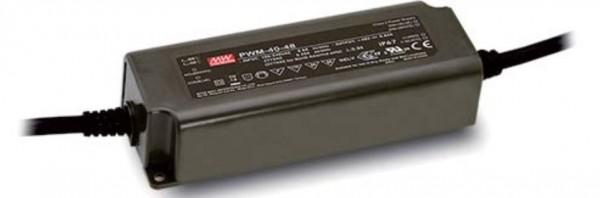 Meanwell PWM Netzteil 40W für LED-Leisten, LED-Bänder