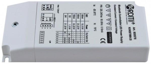 LED Netzteil Abmessungen zu Casambi inside