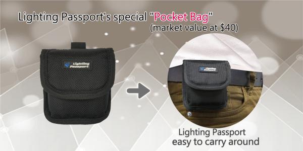 Lighting Passport Pocket Bag