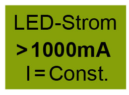 LED Converter from 1A