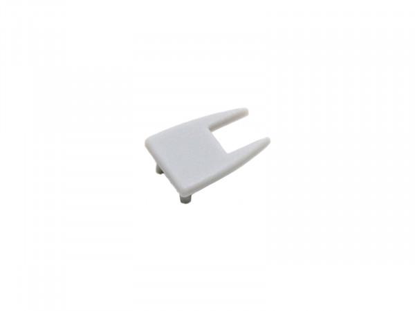 End cap LED aluminum glass edge profile AL-PU3 plastic