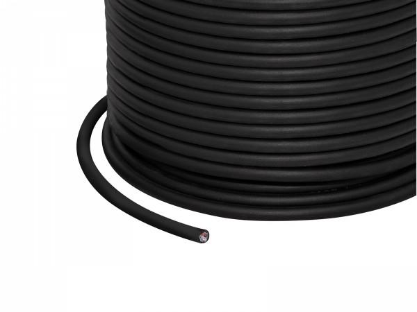 1m 4x 0,25mm² + 1x 0,34mm² 5-pol. RGBW Kabel schwarz outdoor