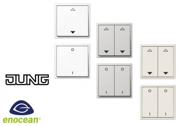 EnOcean Funktaster von EasySens für Schalterprogramm Jung LS 990