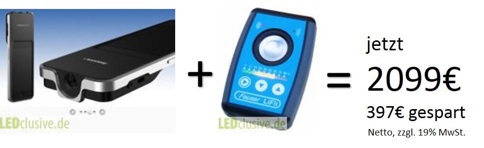 Spektrometer und Flickermeter im Bundle